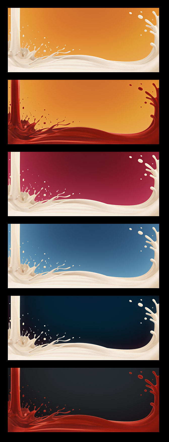 Splash - 3760x1600 wallpaper by maxon