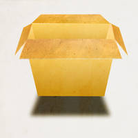 cardboard box psd by spectacularstyle