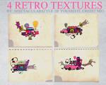 4 retro textures