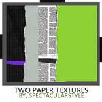 2 paper textures