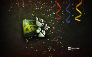 dA 12th Birthday Wallpaper by Miguel-Santos