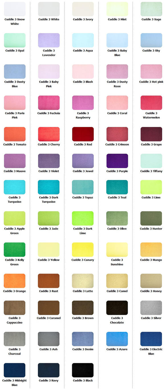 my little pony plush minky color guide by munchforlunch on. Black Bedroom Furniture Sets. Home Design Ideas