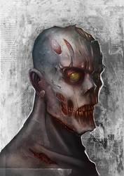 Speed digital zombie by kerast