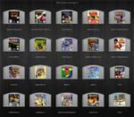 N64 Cartridge icons 3