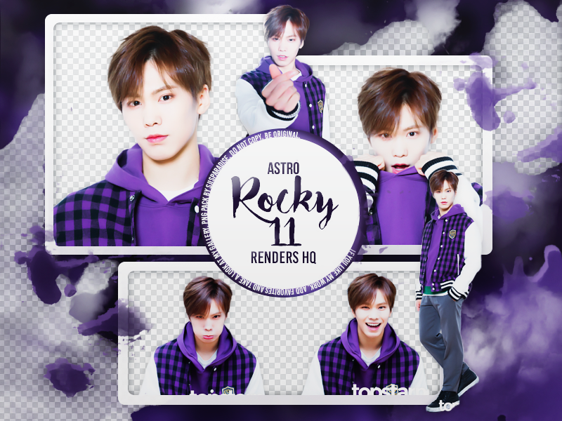 PNG PACK | 11 PNG HQ | ASTRO | Rocky by SJIsParadise on