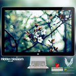 .HIDDEN BLOSSOM. Wallpaper