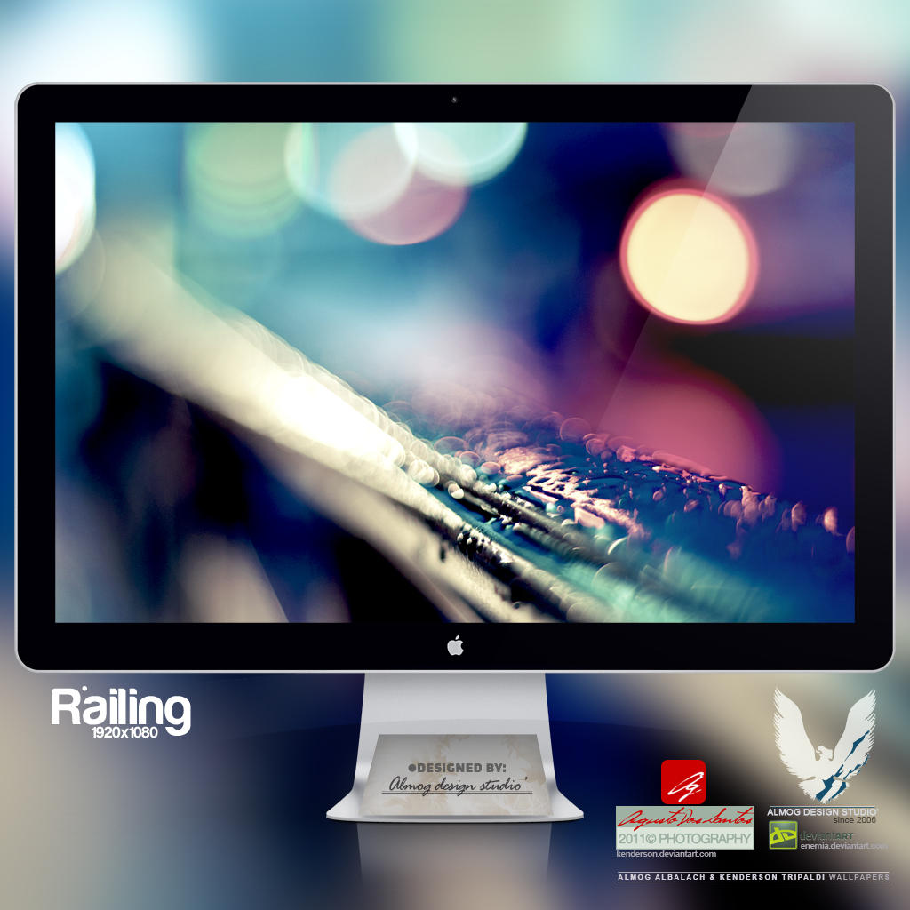 .RAILING. Wallpaper by enemia