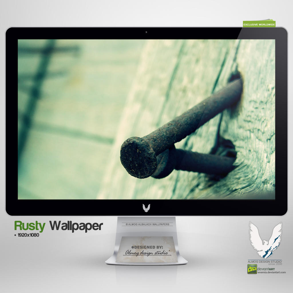 .RUSTY. Wallpaper by enemia
