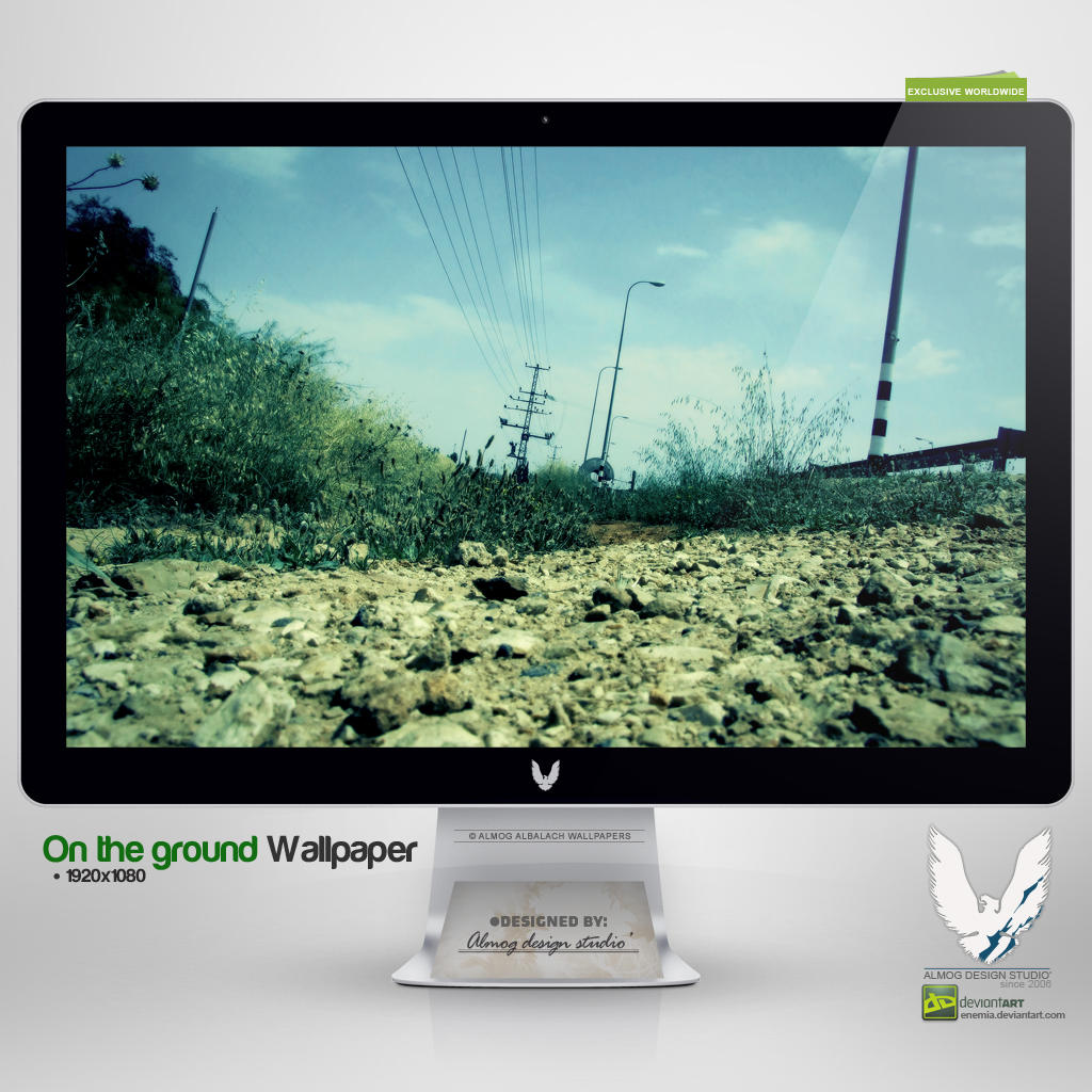 .ON THE GROUND. Wallpaper by enemia