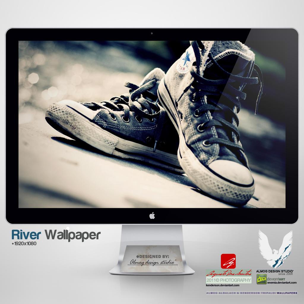 .RIVER. Wallpaper by enemia