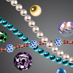 Beads and Gems by Korat-Nibelan