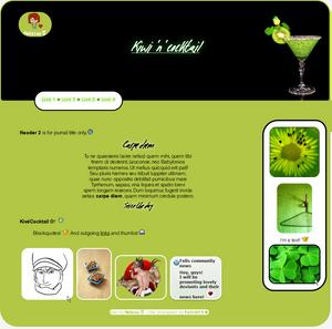 Kiwicocktail Journal by Felizias