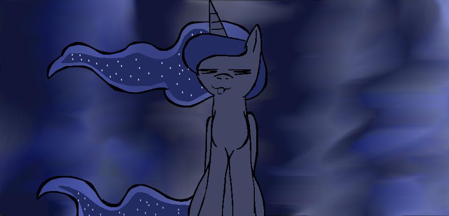 Luna bein' Luna by AirenNova