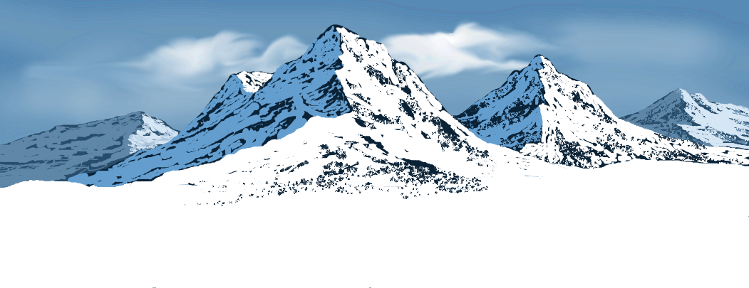 Snowy mountains by altugg on DeviantArt
