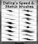 Delira's Brushes