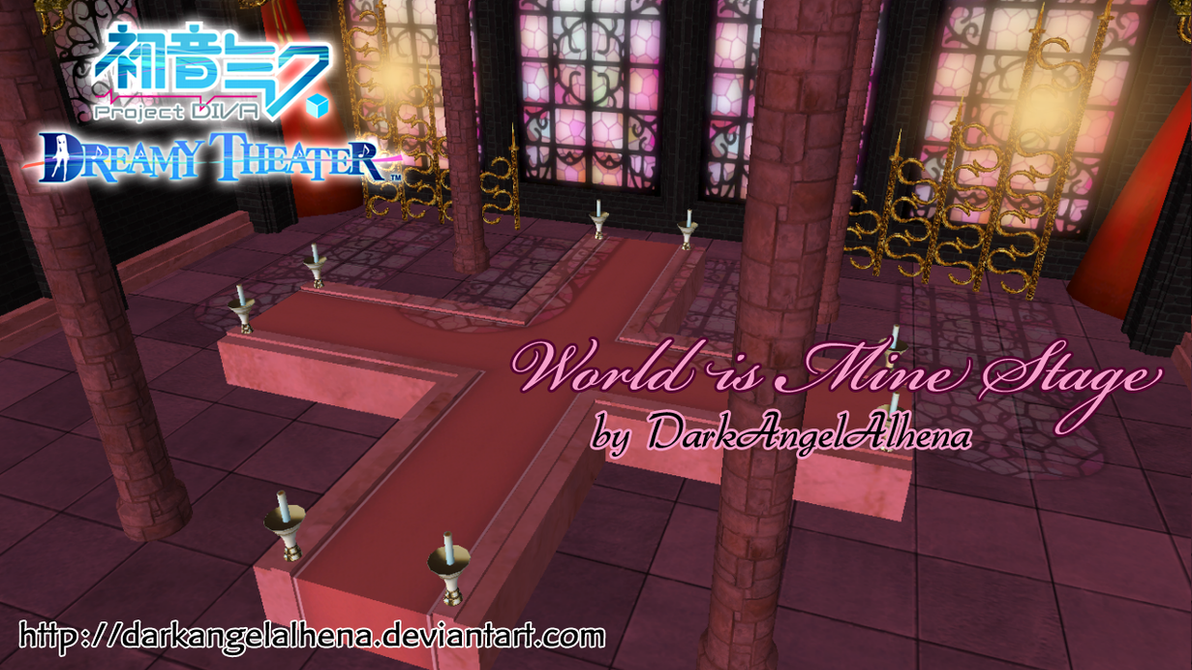Dreamy Theater World is Mine Stage DL (Reupload) by DarkAngelAlhena