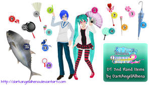[200+ Watchers Gift] DT 2nd Hand Items DL by DarkAngelAlhena