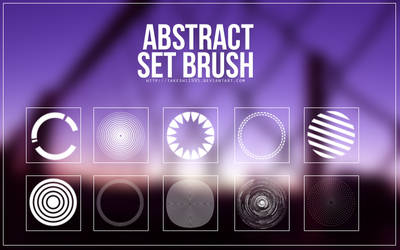 Brush Set #1 - abstract by Takeshi1995