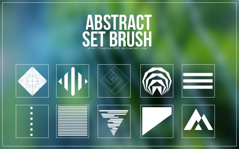 Brush Set #2 - abstract
