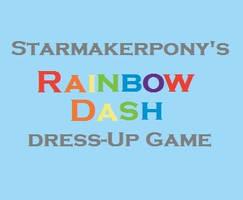 Rainbow Dash Dress Up by starmakerpony