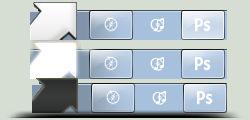 Windows 7 Arrow Start Orb