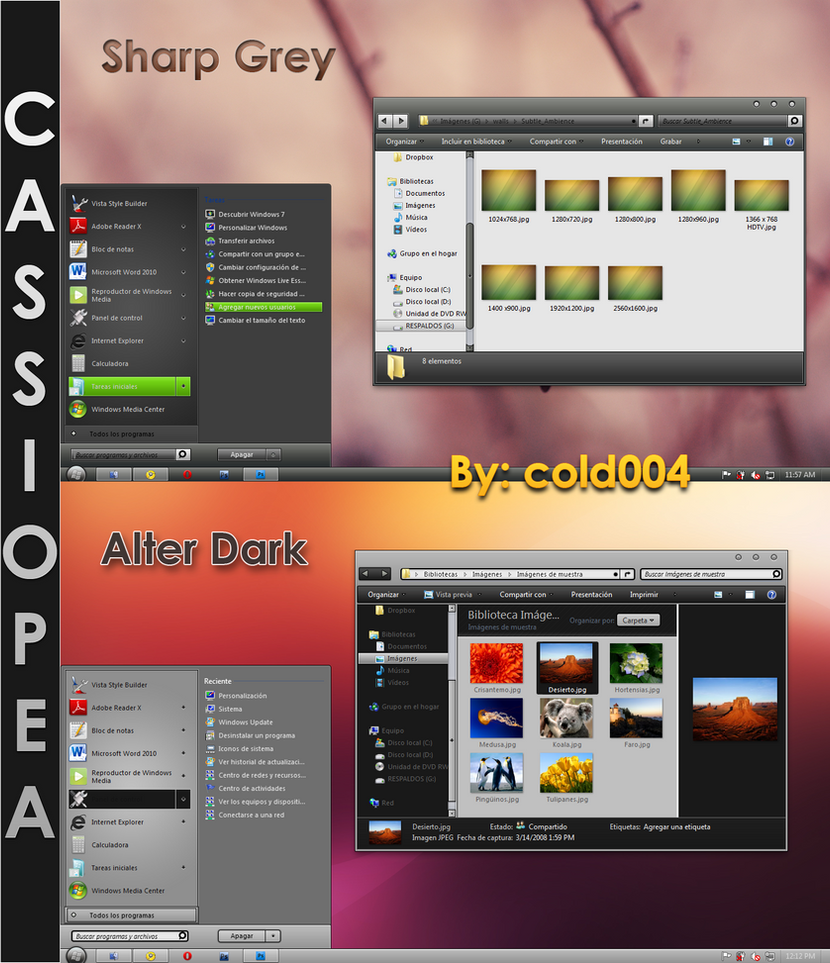 Cassiopea Final Full Pack by cold004