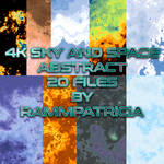 4K Sky X Space resource pack by RammPatricia