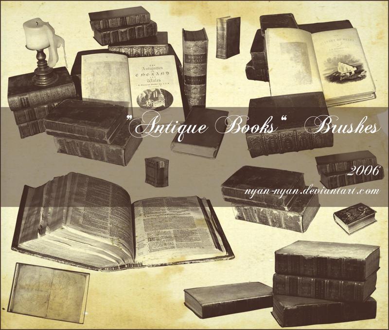 Book Brushes by nyan-nyan