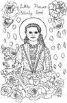FREE Little Flower Coloring Page by szynszyla-stokrotka