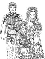 Temporary FREE Easter coloring page 19 Blessing by szynszyla-stokrotka
