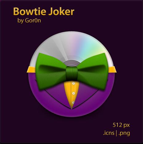 Bowtie Joker by Gor0n
