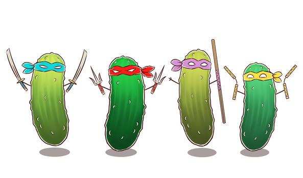 Teenage Mutant Ninja Pickles