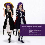 [Sims Touhou] Hijiri Byakuren skin for Sims 3
