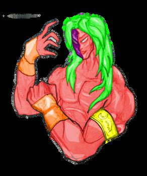 Super Vega Sfv Anim Portrait