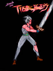 Tiberius swordsman concept for paladins