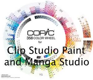 358 Copic Color Set for Clip Studio Paint