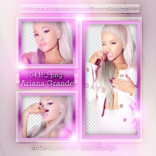 Download Ariana Grande Thank You: Png Pack #27 By BlaniicDesign On DeviantArt