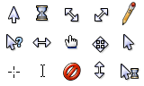 Bluecurve Cursors for Windows by 0xCAFE
