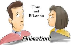 Tom and B'Lanna - Anim by Lionheartcartoon