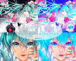 PS Action 06 - Hatsune by flowerakane