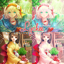 PS Action 14: LYCHEE by flowerakane by FlowerAkane