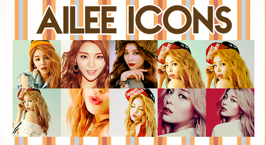 Ailee Icons by FlowerAkane