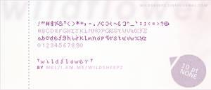 Pixel Font 1: Wildflower
