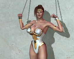 Talia shackled (animated)