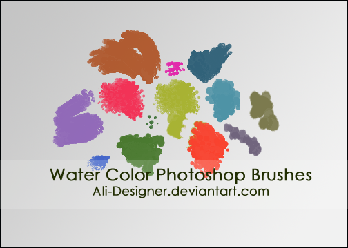 the Water Color brushes