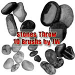 Stones Throw Photoshop Brushes