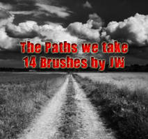 The Paths We Take PS Brushes by JAWorley