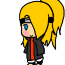 Deidara Shimeji by chilce