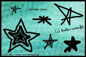 Scattered Stars by killerbutterfly