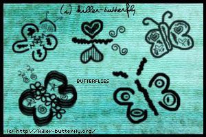 Butterflies by killerbutterfly